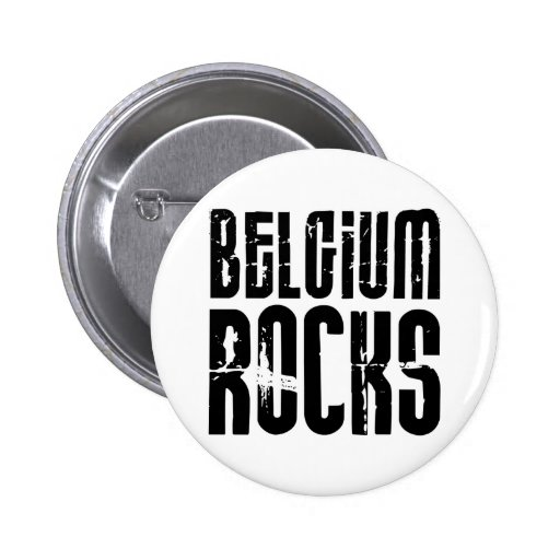 Belgium Rocks Pin