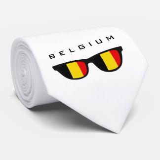 Belgium Shades custom text & color tie