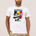 Belgium Soccer Panda (light shirts) T-Shirt
