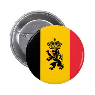 Belgium State Flag Button