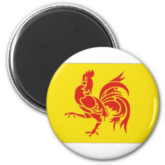 Belgium Walloon Region Flag Magnet