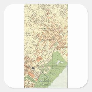 Belgrano by Stereo Bene F.C. Square Sticker