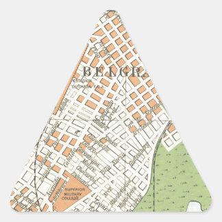 Belgrano by Stereo Bene F.C. Triangle Sticker