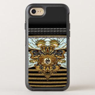 Belgravia French Stripe Monogram OtterBox Symmetry iPhone 8/7 Case