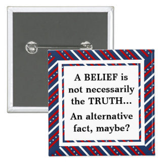 Belief and Truth 2 Inch Square Button