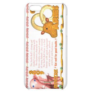 Bélier de la terre Bull/Ox de zodiaque de ValxArt  Étuis iPhone 5C