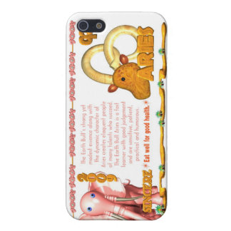Bélier de la terre Bull/Ox de zodiaque de ValxArt  iPhone 5 Case