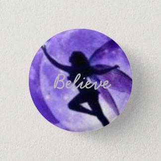 Believe 1 Inch Round Button
