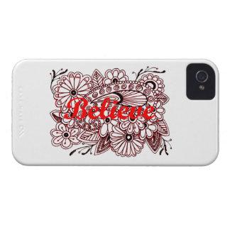 Believe 3 iPhone 4 covers