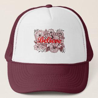 Believe 3 trucker hat