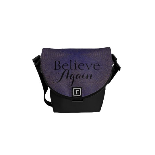 Believe Again - Messenger Bag