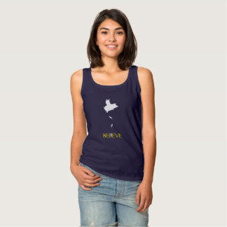 Believe and Pigs Will Fly Tank Top