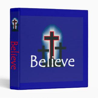 Believe Avery Binder