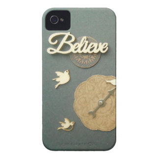 Believe Birds Compass steampunk photography True N iPhone 4 Cover