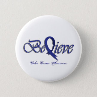 Believe (Blue) 2 Inch Round Button