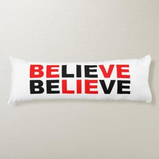 believe body pillow
