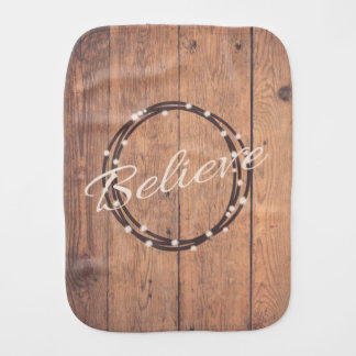 Believe Burp Cloth