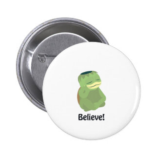 Believe! Cute Kappa 2 Inch Round Button