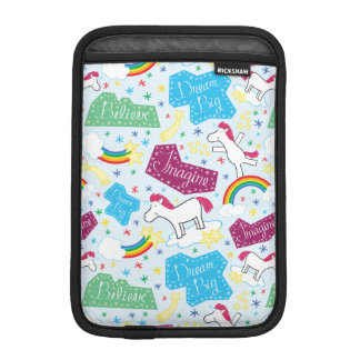 Believe, Dream Big, Imagine Unicorn iPad Mini Sleeve