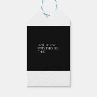 believe gift tags