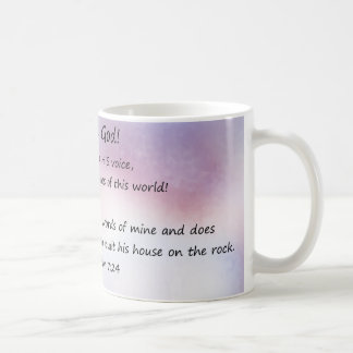 Believe God Coffee Mug