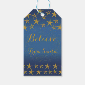 Believe Holiday Gift Tag Pack Of Gift Tags