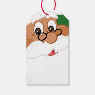 Believe in Black Santa Claus Paper Gift Tag