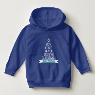 Believe in Christmas Toddler Pullover Hoodie