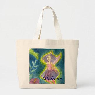 Believe in Faeries Canvas Bags