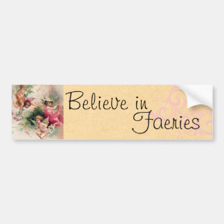 Believe in Faeries Bumper Sticker