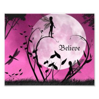 Believe in fairies 10X8 Print Photo