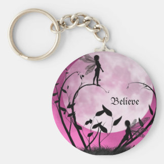 Believe in fairies Keychain