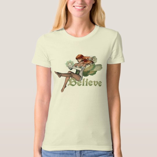 Believe in Fairies - Red Head T-Shirt