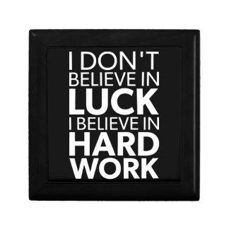 Believe in Hard Work vs Luck - Inspirational Gift Box