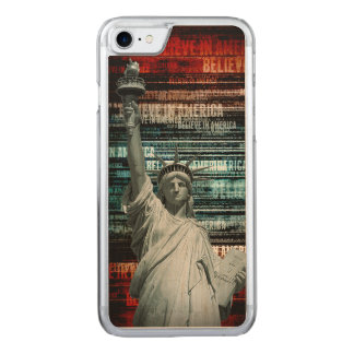 Believe In Liberty Carved iPhone 8/7 Case