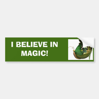 BELIEVE IN MAGIC! BUMPER STICKER
