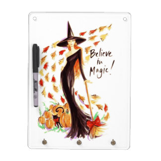 BELIEVE IN MAGIC DRY ERASE BOARD