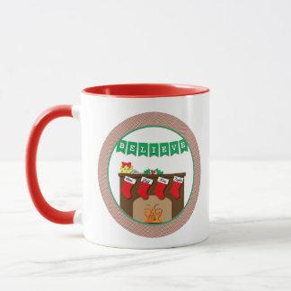 Believe in Magic Night Before Christmas 4 Stocking Mug