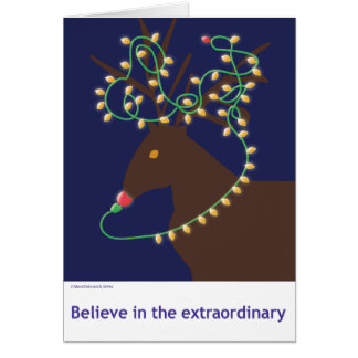 Believe in the extraordinary card