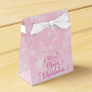 Believe in the Magic of Christmas Favor Box