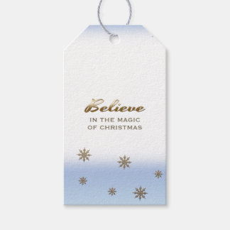 Believe in the Magic of Christmas. Gift Tags