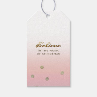 Believe in the Magic of Christmas. Gift Tags Pack Of Gift Tags