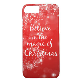 Believe in the Magic of Christmas iPhone 8/7 Case