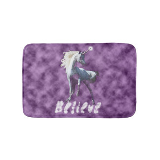 Believe in Unicorns Bath Mat