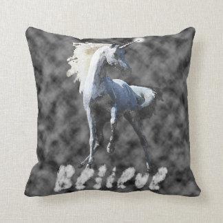 Believe in Unicorns Pillow