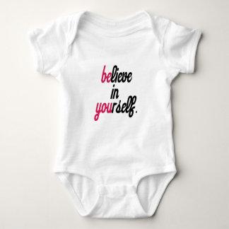 Believe in your self(3).png baby bodysuit