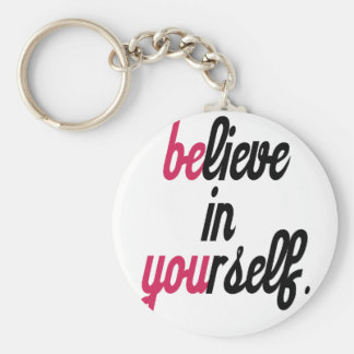 Believe in your self(3).png basic round button keychain
