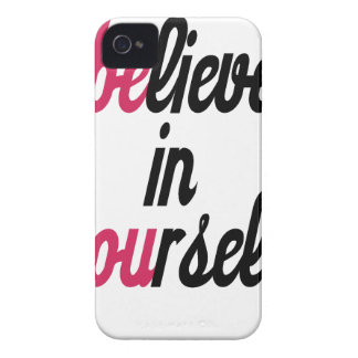 Believe in your self(3).png iPhone 4 cases