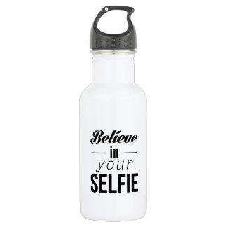 Believe In Your Selfie 532 Ml Water Bottle