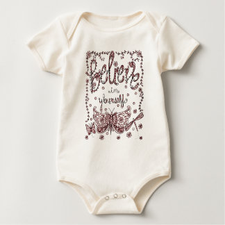 Believe in Yourself 2 Baby Bodysuit